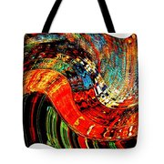 Infinity Sound Wave 2 Tote Bag