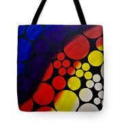 Inflating  Bubbles Tote Bag
