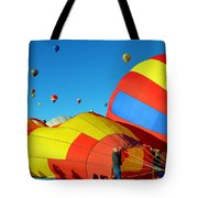 Inflating Tote Bag