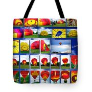 Inflation Hot Air Balloon Tote Bag