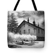 Infrared Barn Tote Bag
