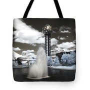 Infrared City Park Tote Bag