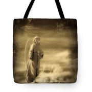 Infrared Dream Angel Tote Bag