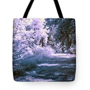 Infrared Morning Tote Bag