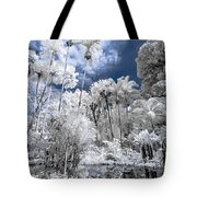 Infrared Pond And Reflections 2 Tote Bag
