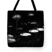 Infrared - Water Lily And Lily Pads Tote Bag