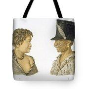 Inhabitants Of New Zealand, 1826 Tote Bag