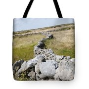 Inis Mor Fields Of Stone Tote Bag