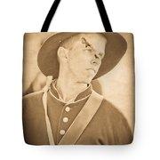 Injured Soldier Tote Bag