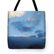 Inkblot Clouds 1 Tote Bag