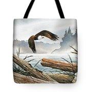 Inland Sea Eagle Tote Bag
