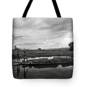 Inle Lake In Burma Tote Bag