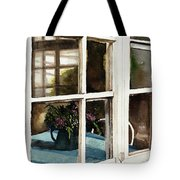Inn Window Tote Bag