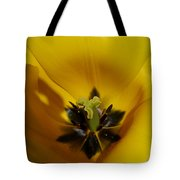 Inner Beauty Of A Tulip Tote Bag