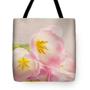 Inner Beauty - Pink Tulips Tote Bag