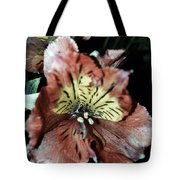 Inner Floral Beauty Tote Bag