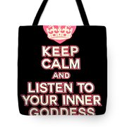 Inner Goddess Tote Bag
