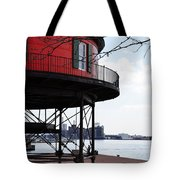 Inner Harbor Lighthouse - Baltimore Tote Bag