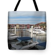 Inner Harbor - Naples Tote Bag