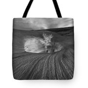 Inner Light Bw Tote Bag