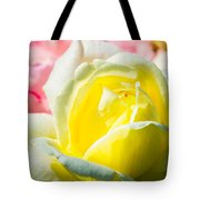 Inner Light Of Rose Tote Bag