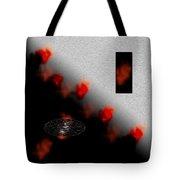 Inner Passion Digital Oil Painting Tote Bag