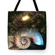Inner Space Outer Space Tote Bag
