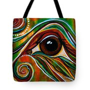 Inner Strength Spirit Eye Tote Bag