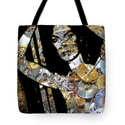 Inner Strength Steampunk Portrait  Tote Bag