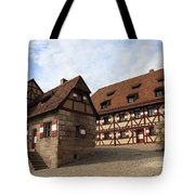 Inneryard Kaiserburg - Nuremberg Tote Bag