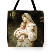 Innocence Tote Bag by William Bouguereau