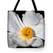 Innocent Krinkle - White Peony By Diana Sainz Tote Bag