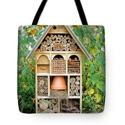 Insect Hotel Tote Bag