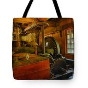 Inside A Grist Mill Tote Bag