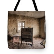 Inside Abandoned House Photos - Old Room - Life Long Gone Tote Bag