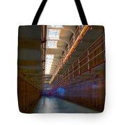 Inside Alcatraz Tote Bag