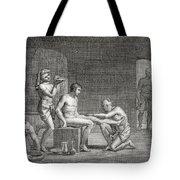 Inside An Egyptian Bathhouse, C.1820s Tote Bag