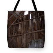 Inside An Old Barn Tote Bag