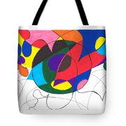 Inside And Outside The Circle Tote Bag