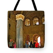Inside Church Of Saint Nicholas In Myra-turkey Tote Bag