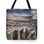 Inside Colosseum Tote Bag
