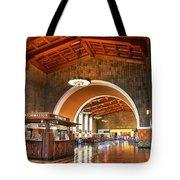 Inside Los Angeles Union Station Tote Bag