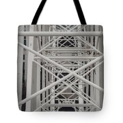 Inside Of The Ferris Wheel Tote Bag