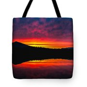 Inside Passage Sunrise Tote Bag