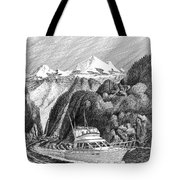 Cruising The Inside Passage Tote Bag