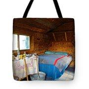 Inside Savage River Cabin In Denali Np-ak   Tote Bag