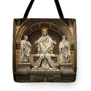 Inside St Peters Basiclica - Vatican Rome Tote Bag