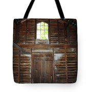 Inside The Barn Tote Bag