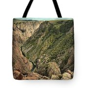 Inside The Black Canyon Tote Bag