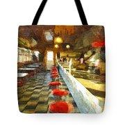 Inside The Cafe Tote Bag